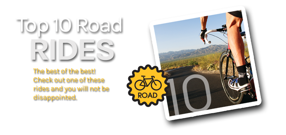 Top 10 Road Bike Rides