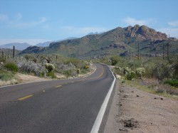Tortilla Flats Road Bike Ride – Mesa, Arizona
