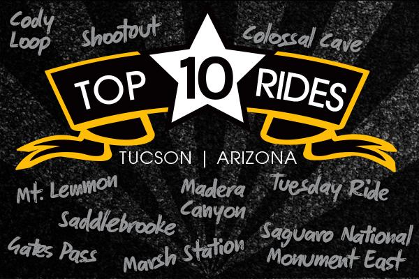 top bike rides in tucson az