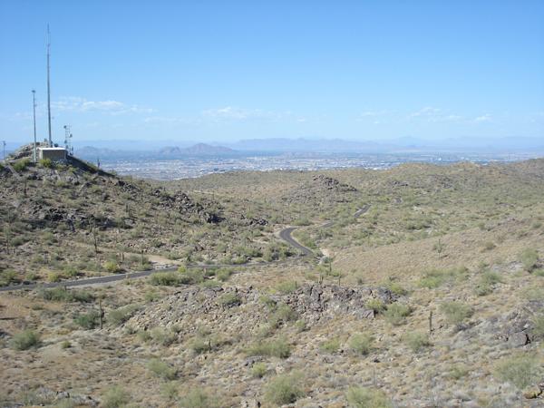 South Mountain Bike Ride – Phoenix, Arizona
