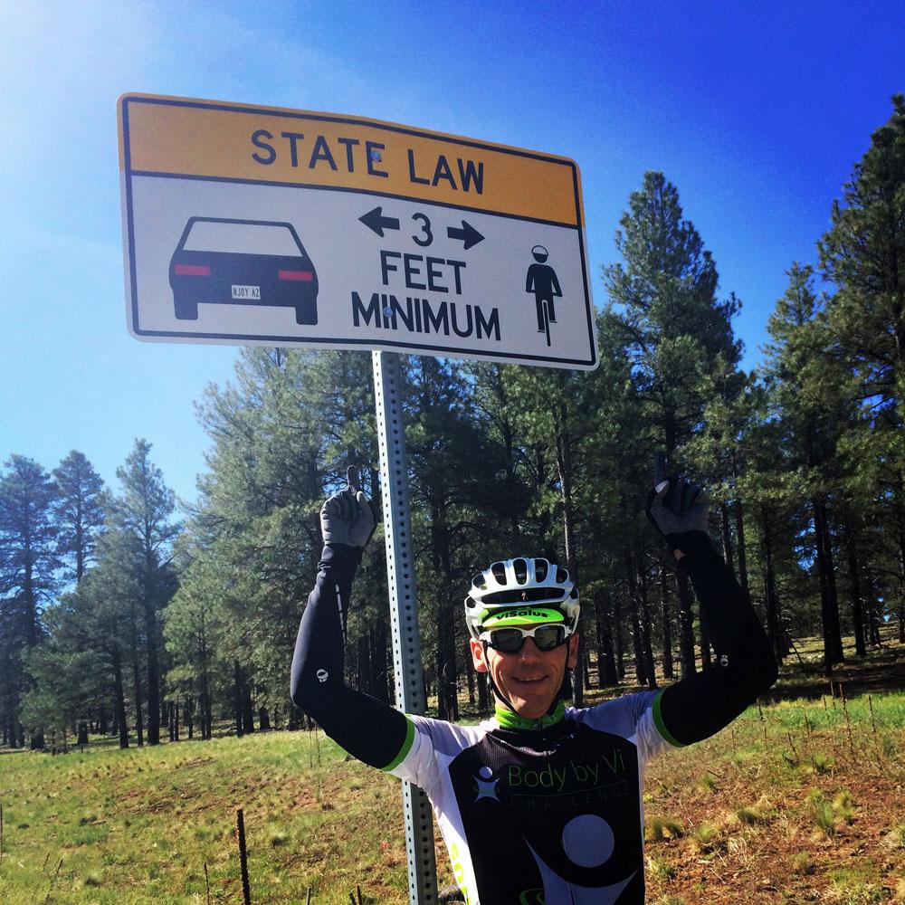 Lake Mary Bike Ride – Flagstaff, Arizona