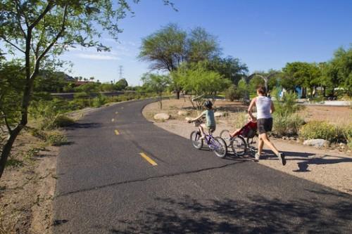 Tucson Arizona Karte.The Loop River Path Tucson Az Bike Path Ride Map Elevation
